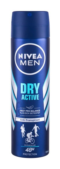 Nivea Men Dry Active Antiperspirant (150 ml)