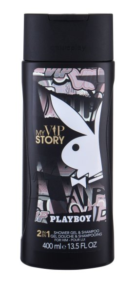 Playboy My VIP Story Shower Gel (400 ml)