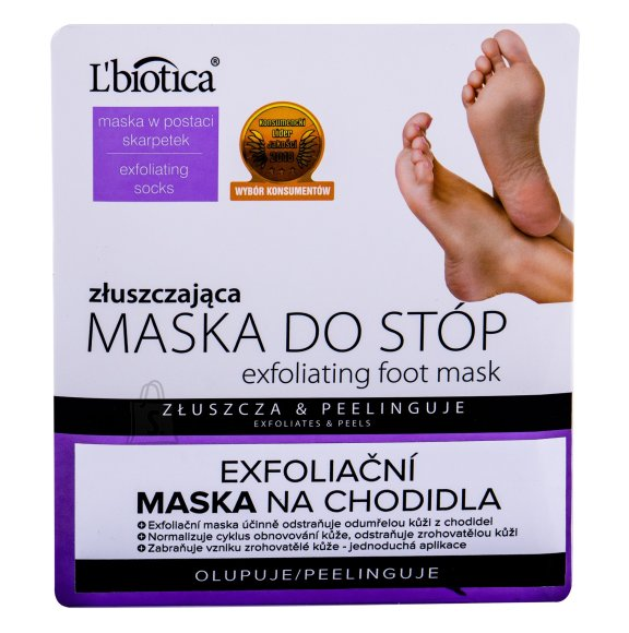 L´Biotica Foot Mask Foot Cream (1 pc)