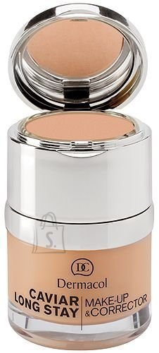 Dermacol Caviar Long Stay Make-Up & Corrector 3 jumestus- ja peite kreem 30 ml