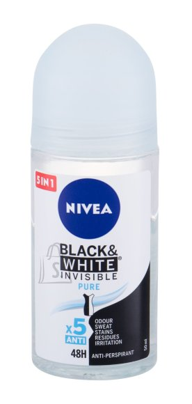 Nivea Invisible For Black & White Antiperspirant (50 ml)