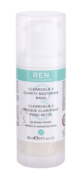 Ren Clean Skincare Clearcalm 3 Face Mask (50 ml)
