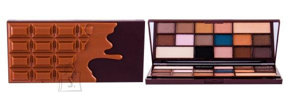 Makeup Revolution London I Heart Makeup I Heart Chocolate lauvärvi palett: Salted Caramel