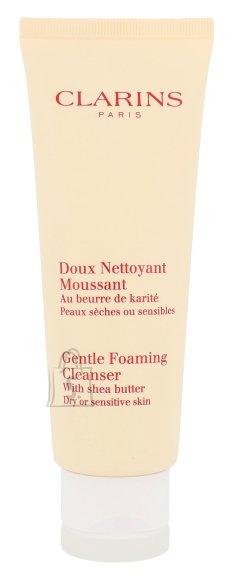 Clarins Gentle Foaming Cleanser Dry Skin näopuhastusvaht 125 ml