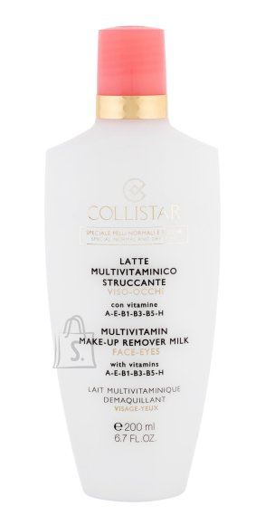 Collistar Multivitamin Make-Up puhastuspiim-meigieemaldaja 200 ml