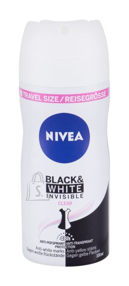 Nivea Invisible For Black & White Antiperspirant (100 ml)