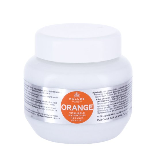 Kallos Cosmetics Orange Hair Mask (275 ml)