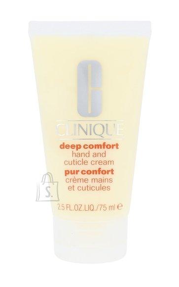 Clinique Deep Comfort Hand And Cuticle Cream kätekreem 75 ml