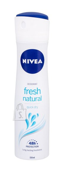 Nivea Fresh Natural Anti-perspirant Spray 48H deodorant 150 ml