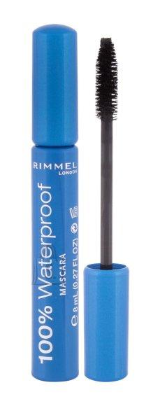 Rimmel London 100% Waterproof Mascara (8 ml)
