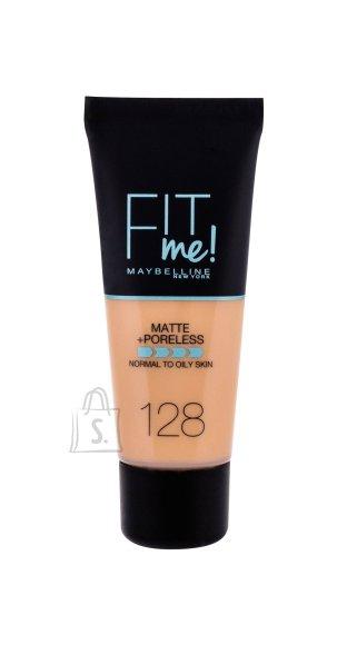 Maybelline Fit Me Matte + Poreless jumestuskreem, 128 Warm Nude