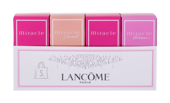 Lancôme Miracle Collection Eau de Parfum (4x5 ml)