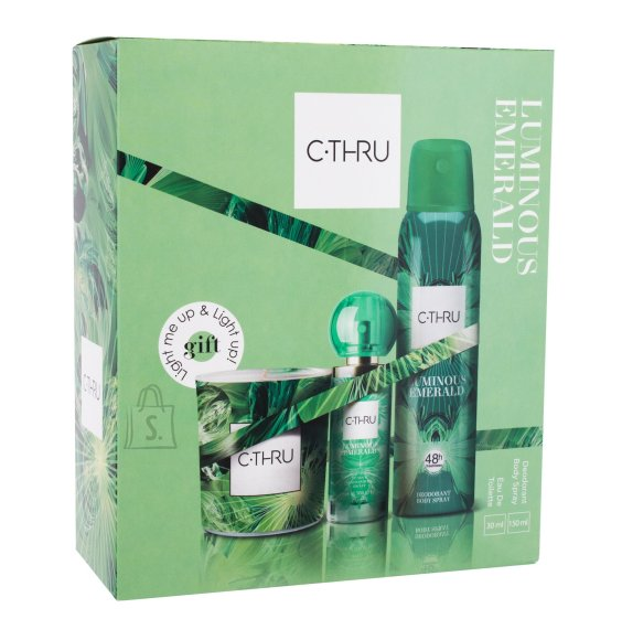 C-THRU Luminous Emerald Deodorant (30 ml)