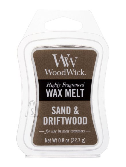 WoodWick Sand & Driftwood Scented Wax (22,7 g)