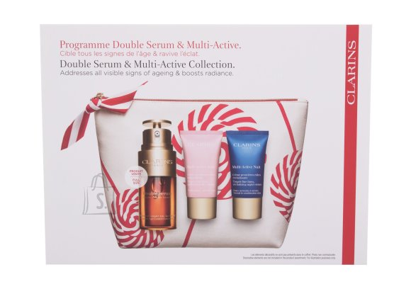 Clarins Double Serum & Multi-Active Collection Night Skin Cream (30 ml)