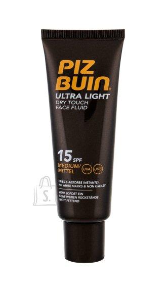 Piz Buin Ultra Light Dry Touch SPF15 päikesekaitse kreem näole 50 ml