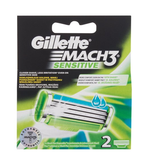 Gillette Mach3 Replacement blade (2 pc)