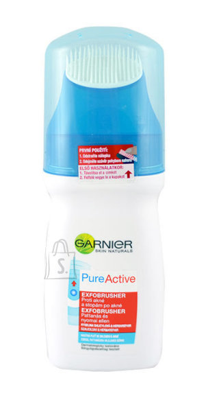 Garnier Pure Active Exfobrusher näopuhastusvahend harjakesega 150 ml