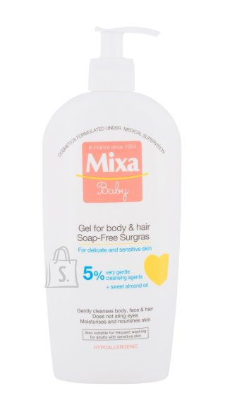 Mixa Baby Shower Gel (400 ml)