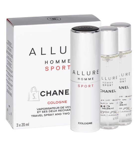 Chanel Allure Homme Sport Cologne Eau de Cologne (3x20 ml)