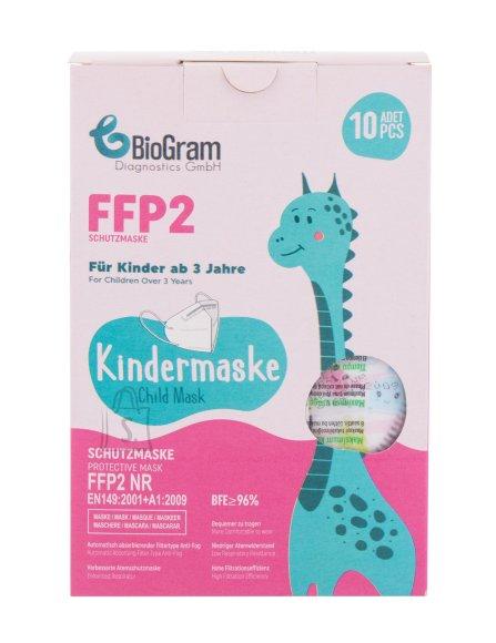 BioGram Face Mask FFP2 Face Mask and Respirator (10 pc)