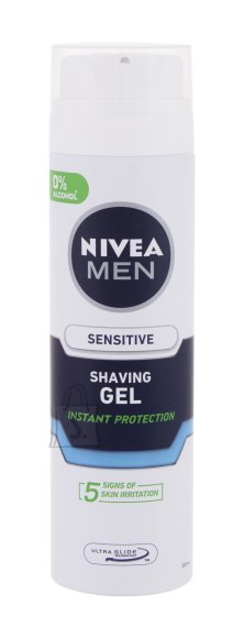 Nivea Men Sensitive habemeajamisgeel 200 ml