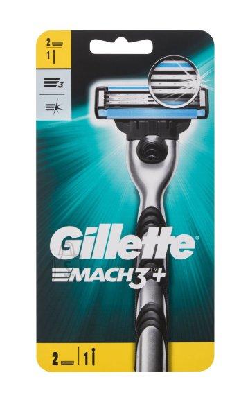 Gillette Mach3 raseerija 1 tk + 2 raseerimispead