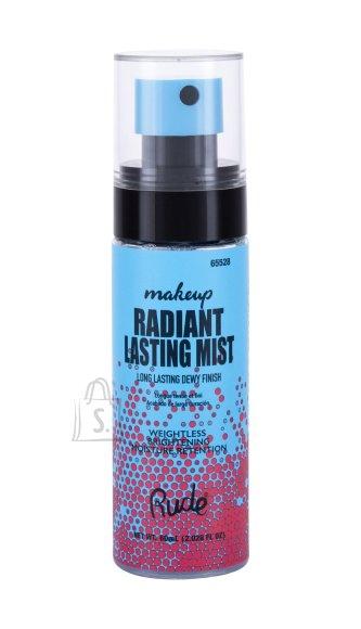 Rude Cosmetics Radiant Lasting Makeup Mist Make - Up Fixator (60 ml)