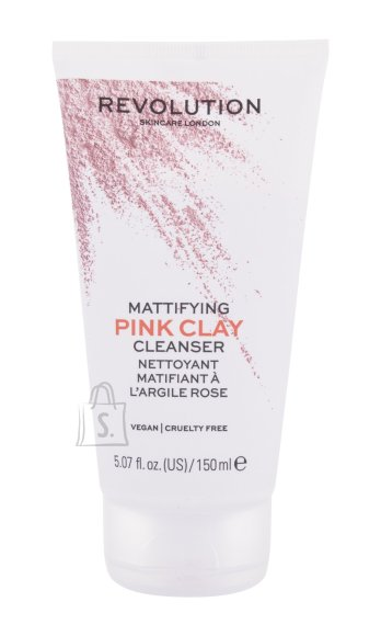 Revolution Skincare Pink Clay Cleansing Mousse (150 ml)