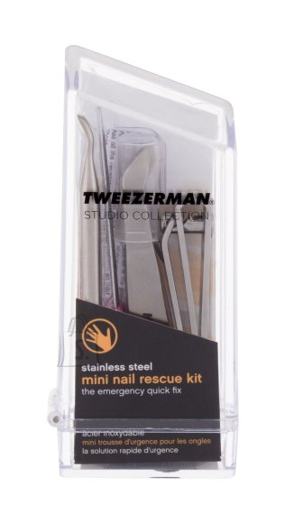 Tweezerman Mini Nail Rescue Tweezers (1 pc)