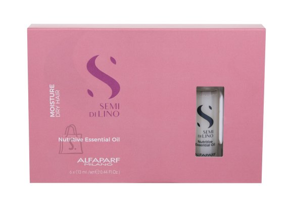 ALFAPARF MILANO Semi Di Lino Hair Oils and Serum (6x13 ml)