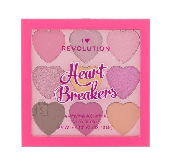 I Heart Revolution Heartbreakers Makeup Palette (4,95 g)