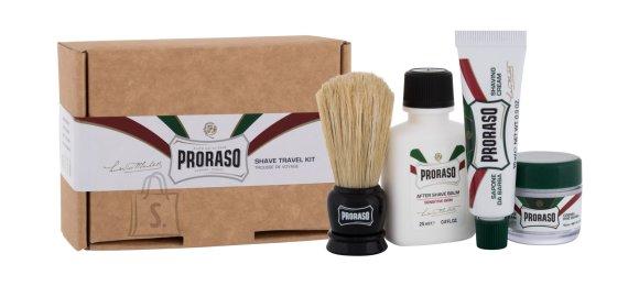 PRORASO Shave Travel Kit Beard Brush (25 ml)