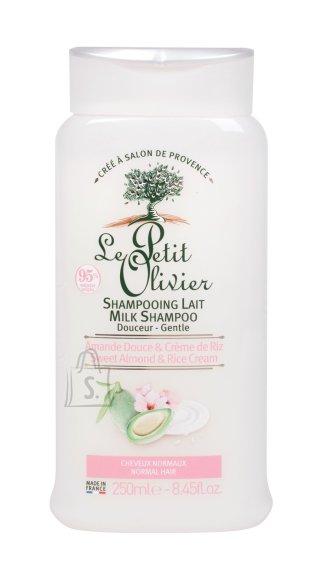 Le Petit Olivier Sweet Almond & Rice Shampoo (250 ml)