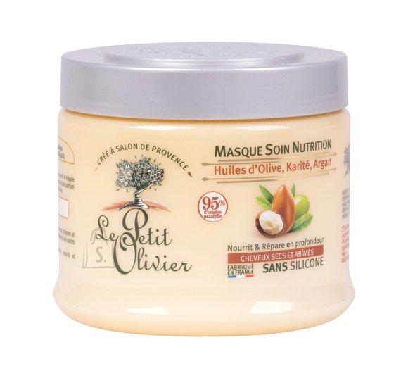 Le Petit Olivier Olive, Shea, Argan Oils Hair Mask (330 ml)