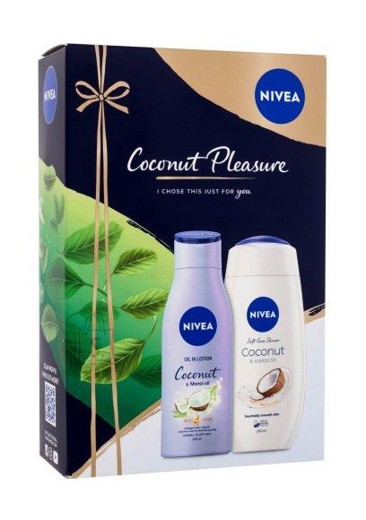 Nivea Coconut Pleasure Shower Cream (250 ml)