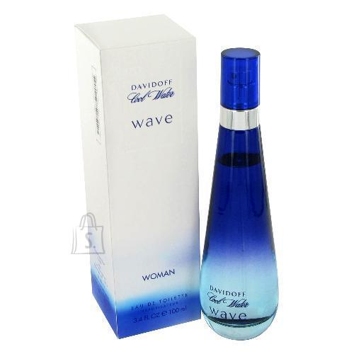 Davidoff Cool Water Wave tualettvesi naistele EdT 100ml