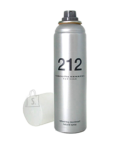 Carolina Herrera 212 spray deodorant naistele 150ml