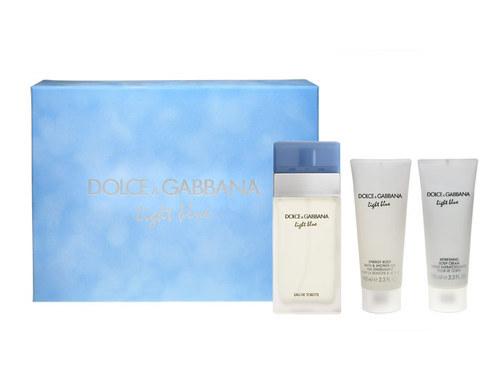 Dolce & Gabbana Light Blue lõhnakomplekt naistele koos EdT 100ml