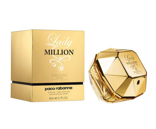 Paco Rabanne Lady Million Absolutely Gold parfüüm naistele 80ml