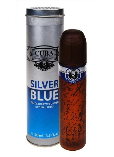 Cuba Silver Blue tualettvesi meestele EdT 100ml