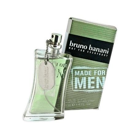 Bruno Banani Made for Men tualettvesi meestele EdT 50ml