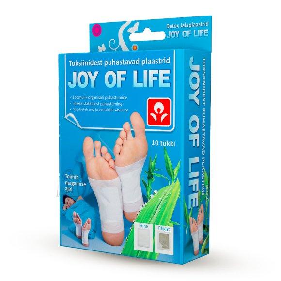 Joy of Life Joy of Life Detox jalaplaastrid