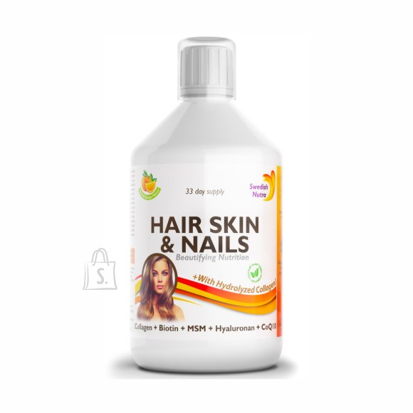 Swedish Nutra Hair, Skin & Nails Multivitamiin