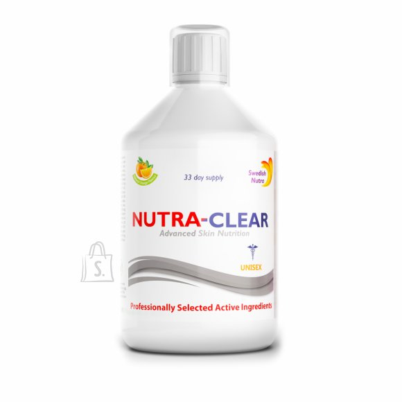 Swedish Nutra Nutra Clear Multivitamiin 500 ml.