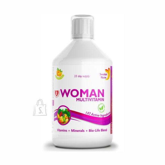 Swedish Nutra Woman Multivitamiin