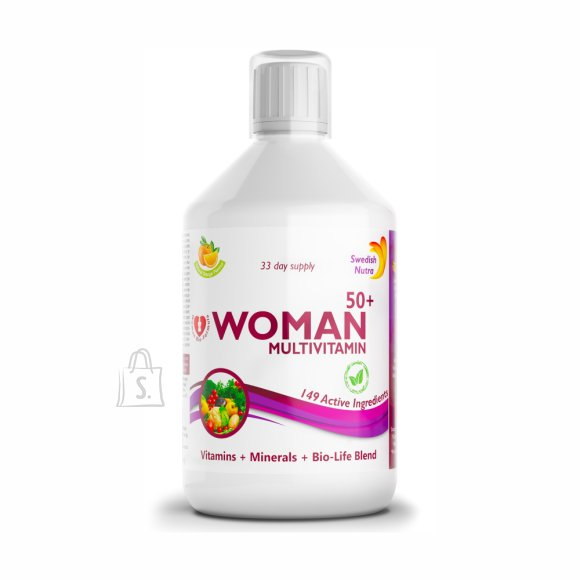 Swedish Nutra Woman 50 + Multivitamiin