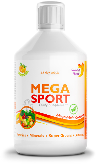 Swedish Nutra Mega Sport Multivitamiin