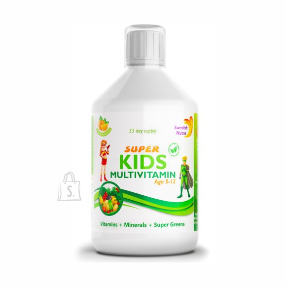 Swedish Nutra Super Kids Multivitamiin