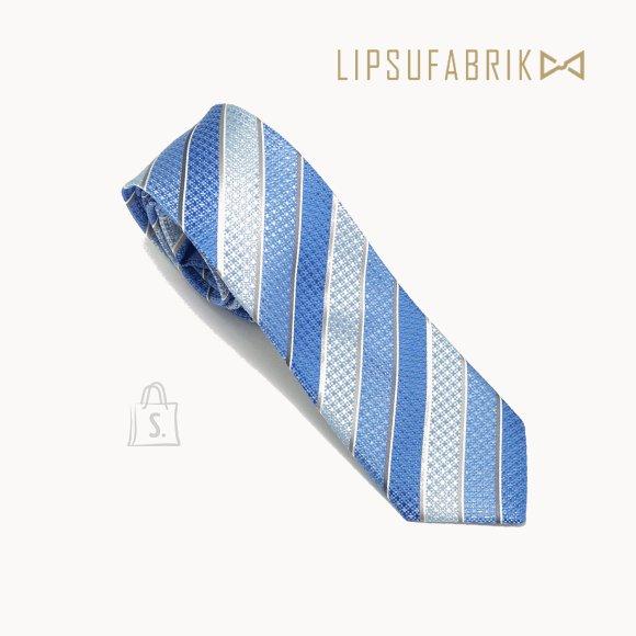 Meeste triibuline käsitöö lips